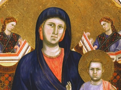 Madonna by Giotto at the Museum of the Opera del Duomo